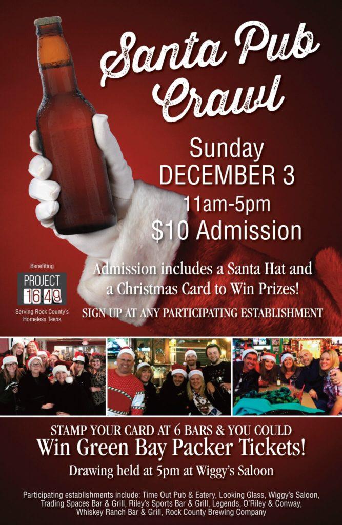 2017 Santa Pub Crawl