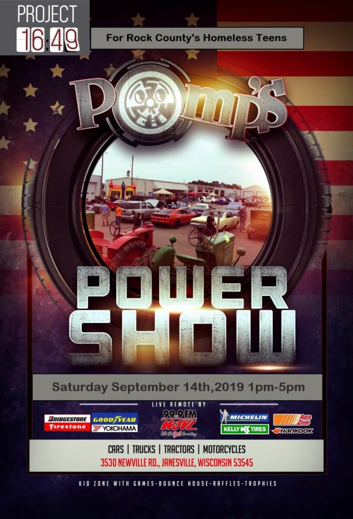 Pomps Power Show 2019 poster
